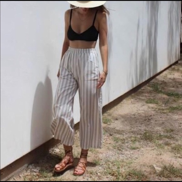 fb821d4e81 Madewell Pants - Madewell Huston Pull-on Crop Pants